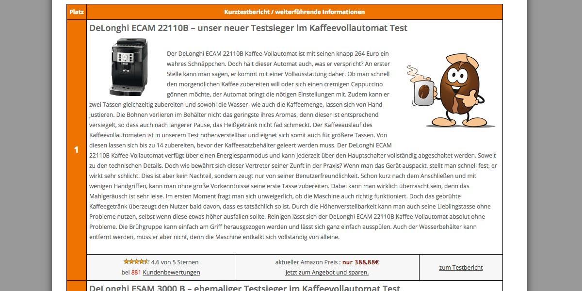 kaffeevollautomat-testportal.de
