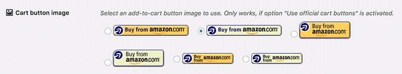 official cart buttons