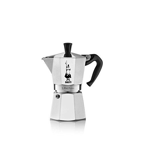 Bialetti Moka Express Espresso Maker, 6 Cup