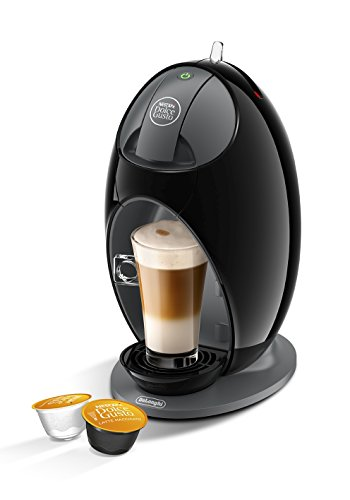 Nescafé Dolce Gusto Coffee Machine Jovia Manual Coffee by De'Longhi EDG250.B - Black