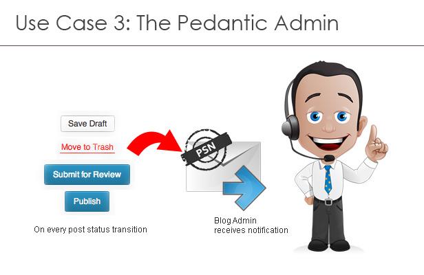 Use case 3: The pedantic admin